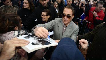 L'acteur Jean-Claude Van Damme a rencontré ses fans à Anderlecht