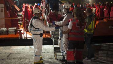 L'Espagne sauve près de 1200 migrants en Méditerrannée en deux jours