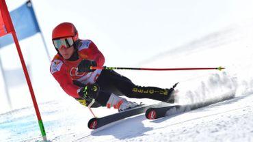 Sam Maes se qualifie pour la deuxième manche du géant de Val d'Isère