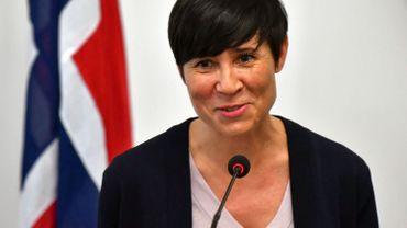 """""""J'exprime une nouvelle fois ma reconnaissance aux deux parties pour leurs efforts et leur esprit de coopération"""", a déclaré la ministre norvégienne des Affaires étrangères, Ine Eriksen Søreide."""