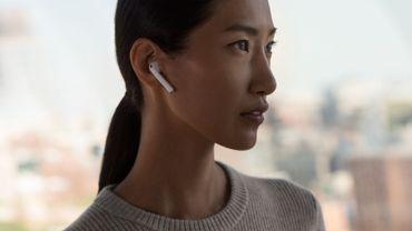 """Apple pourrait décliner ses AirPods en une nouvelle version """"Pro""""."""