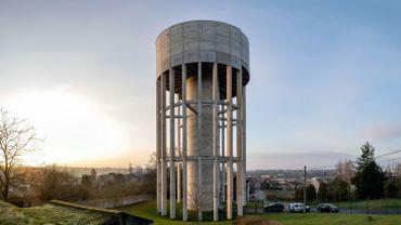Nouveau château d'eau de Bois d'Haine