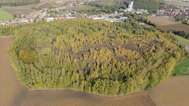 Le charbonnage Sainte-Barbe, près de Binche, représente une superficie à dépolluer de 170 000 m².