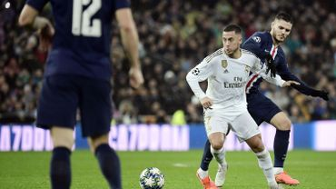 """Zidane : """"Hazard est prêt à jouer demain, le moment est venu qu'il fasse son retour"""""""