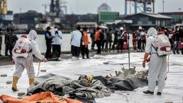 Crash d'un Boeing en Indonésie : les plongeurs repêchent quantité de débris et de restes humains