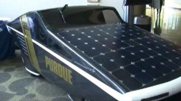 Une voiture consommant moins d'1,5 litres par 100 km grâce à l'énergie solaire