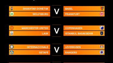 Europa League: les quarts et demi-finales sont connus