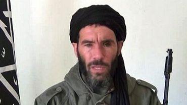 Une capture d'écran non datée d'une vidéo où apparaît le chef islamiste Mokhtar Belmokhtar