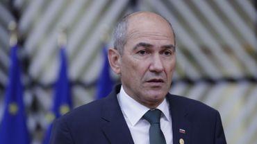 Le Premier ministre slovène Janez Jansa
