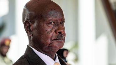 Yoweri Museveni, le président de l'Ouganda.
