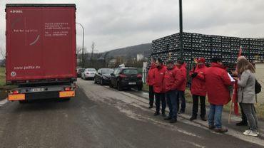 La FGTB - UBT chez Palifor contre le dumping soial