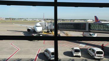 Avion de Brussels Airlines sur le tarmac de l'aéroport de Zaventem