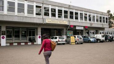 L'hôpital universitaire Joseph Ravoahangy Andrianavalona à Antananarivo, le 20 septembre 2017