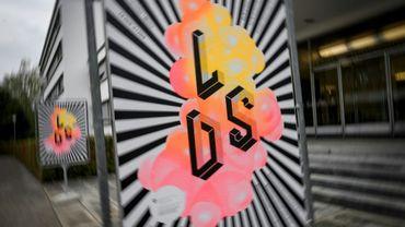 L'affiche d'une exposition à Berne à l'occasion des 75 ans du LSD, un psychotrope découvert en Suisse en 1943, le 21 septembre 2018