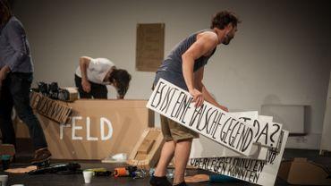 Unser Arm gegen uns ! Ringlokschuppen Ruhr - Bâtard Festival