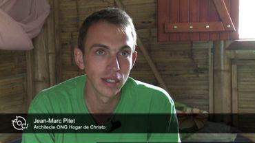 Le portrait de la semaine: Jean-Marc, jeune architecte qui conçois des maisons en bambou