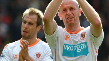Les joueurs de Blackpool déçus