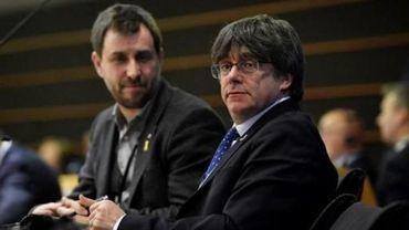 """Puigdemont et Comín renoncent à leur demande de rejoindre le groupe européen """"Verts/ALE"""""""