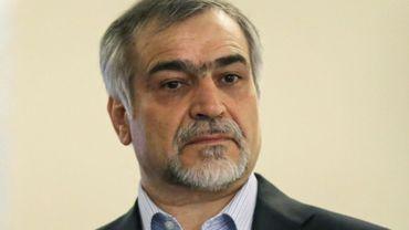 Hossein Fereydoun, le frère et conseiller spécial du président iranien Hassan Rohani, le 3 avril 2015 à Téhéran