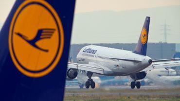 Grève à Lufthansa: 200 vols annulés, notamment à Brussels Airport