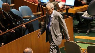 Lakhdar Brahimi à l'Onu