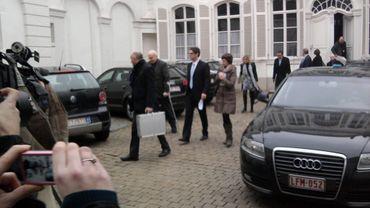Les perquisitions à Namur