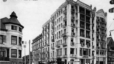 L'hôpital de l'Océan tel qu'on pouvait le voir dans les années 30