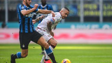 L'Inter de Lukaku encore freiné par Cagliari et un but de Nainggolan