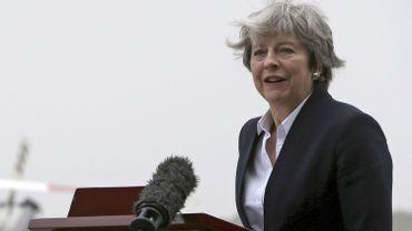 Theresay May, Première ministre britannique.