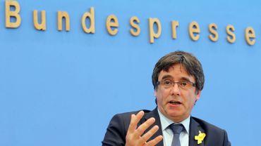 Carles Puigdemont continuera à oeuvrer pour une Catalogne indépendante depuis la Belgique