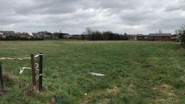 Le terrain sur lequel devraient bientôt s'ériger huit blocs de six appartements à Gerpinnes-Flaches