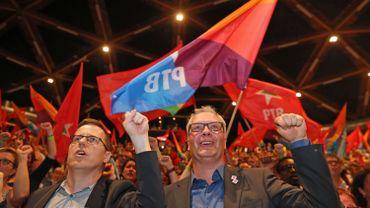 Peter Mertens a été réélu à la présidence du PTB avec 93,9% des voix