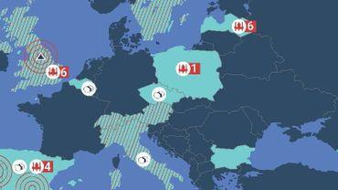 Ils blanchissaient l'argent pour le groupe cybercriminel QQAAZZ actif en Belgique: vingt arrestations par Europol