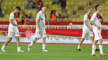 Les joueurs de Monaco