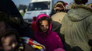 Trois cents personnes manifestent leur solidarité avec les réfugiés à Bruxelles