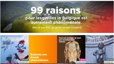 """""""99 raisons de visiter la Belgique"""": l'Etat lance une campagne de pub pour séduire les étrangers"""
