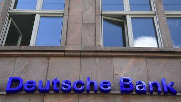 Le titre de Deutsche Bank bondit de plus de 7% à la Bourse de Francfort