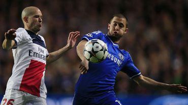 """Hazard, blessé au mollet, sera indisponible """"au moins 15 jours"""""""