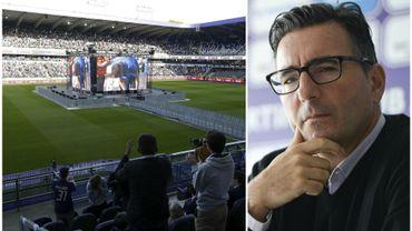 David Steegen, attaché de presse d'Anderlecht, explique ce qui est prévu si le RSCA est sacré champion