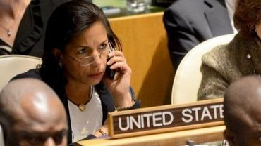 Susan Rice, l'ambassadrice américaine à l'ONU, le 29 novembre 2012 à New York