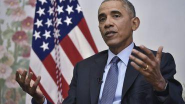 Le président américain Barack Obama le 6 janvier 2017 à Washington, DC.