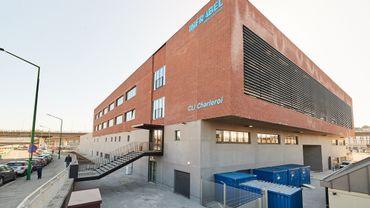 Le nouveau bâtiment d'Infrabel à Charleroi