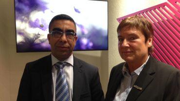 Fouad Elmeki et Chantal Martin
