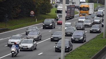 La réduction de la vitesse sur le ring de Bruxelles est l'une des 350 mesures du Plan climat.