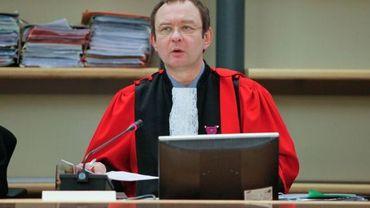 Le président de la Cour d'Assises du Hainaut : Olivier Delmarche