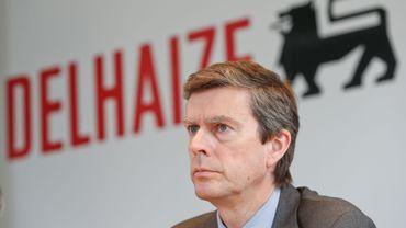 Pierre-Olivier Beckers, désormais ex-CEO de Delhaize
