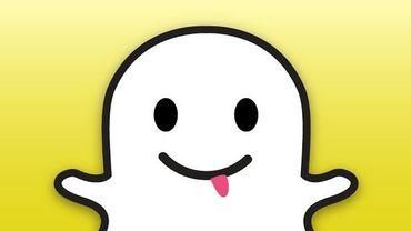 Le logo de l'application Snapchat