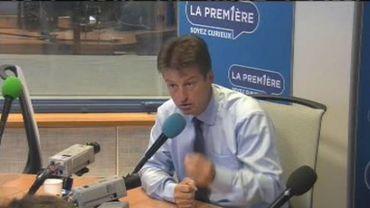 Olivier Castel, président du MR