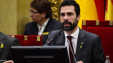 Roger Torrent, président du Parlement catalan