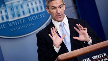 Ken Cuccinelli, le directeur par intérim des services américains de l'immigration, s'exprime lundi 12 août à la Maison Blanche